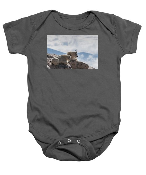 Looking Down On The World Baby Onesie