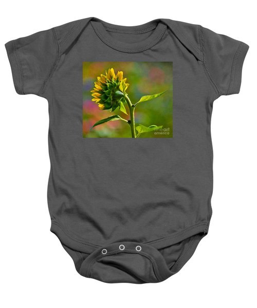 Looking For The Sun Baby Onesie