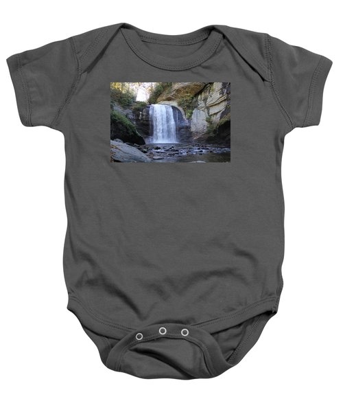 Looking Glass Falls Baby Onesie
