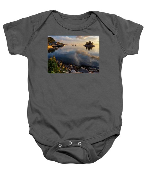 Lookout Point, Harpswell, Maine  -99044-990477 Baby Onesie