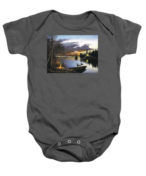 Loon Lake Baby Onesie