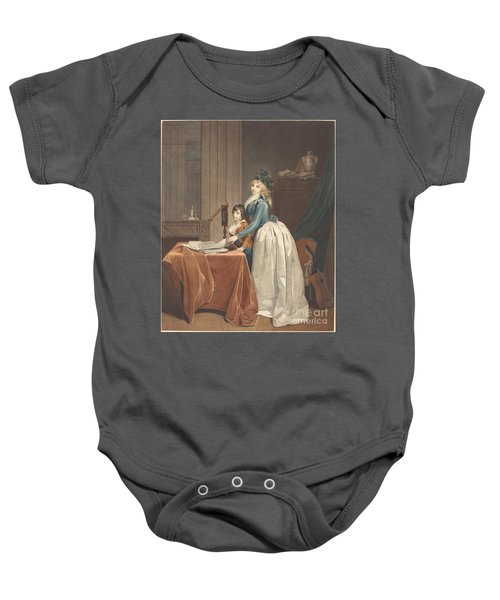 L'optique (the Optical Viewer) Baby Onesie