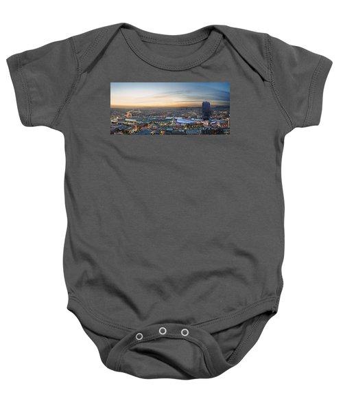 Los Angeles West View Baby Onesie by Kelley King