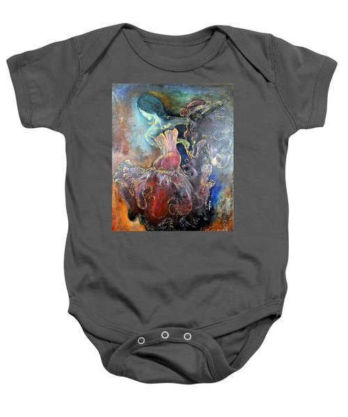 Lost In The Motion Baby Onesie