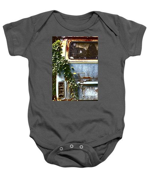 Lost In Time Baby Onesie