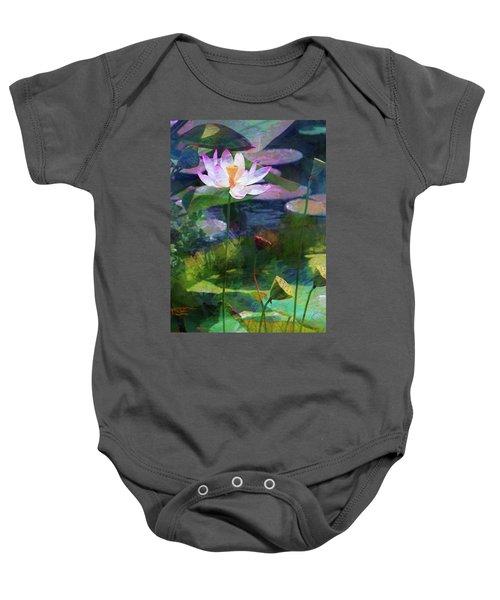 Lotus Baby Onesie