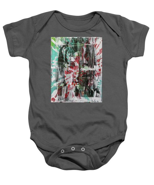 Love And Peace Are Eternal Baby Onesie