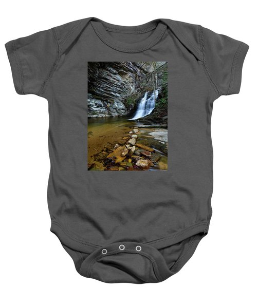 Lower Cascades Baby Onesie