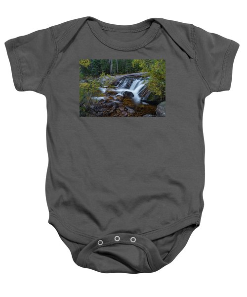 Lower Copeland Falls Baby Onesie by Gary Lengyel