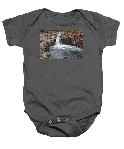 Lower Mccloud Falls Baby Onesie