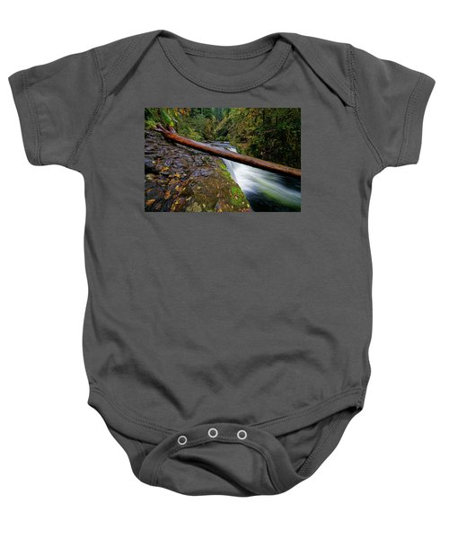 Lower Punch Bowl Falls Baby Onesie