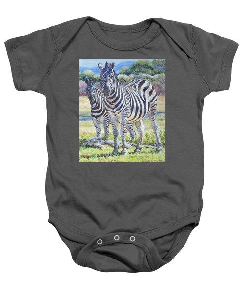 Lucky Stripes Baby Onesie