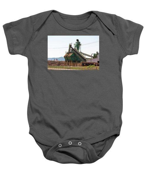 Lumber Mill Sawdust Machinery Baby Onesie