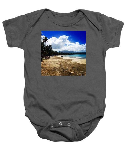 Luquillo Beach, Puerto Rico Baby Onesie