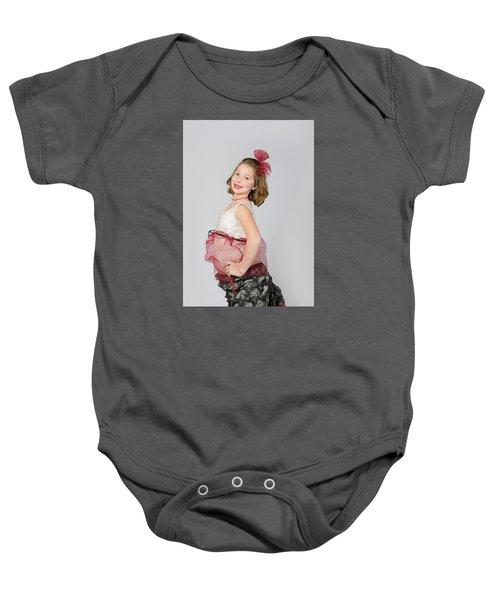 Lydia In Wraps Baby Onesie