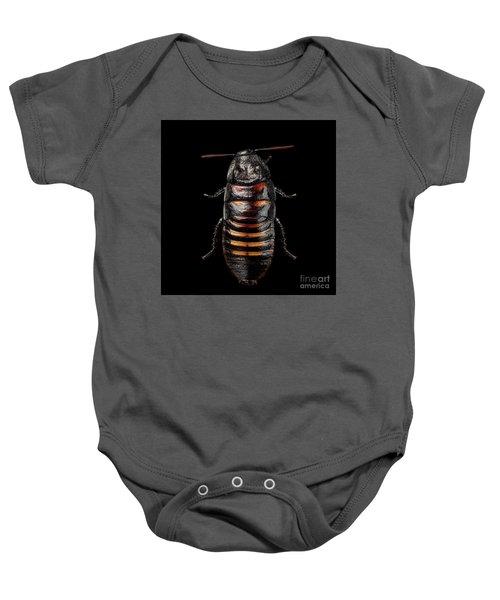 Madagascar Hissing Cockroach Baby Onesie