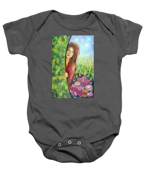 Magic Garden 021108 Baby Onesie