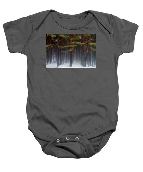 Magical Pines Baby Onesie