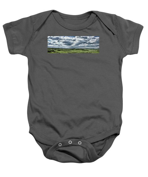 Magnetic View Baby Onesie