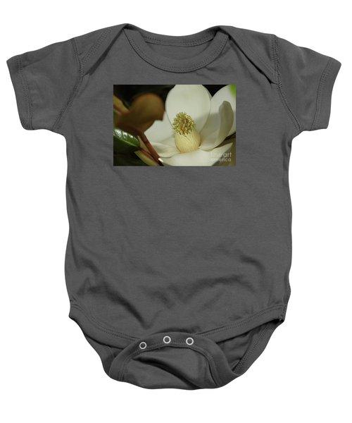 Magnolia Blossom Baby Onesie