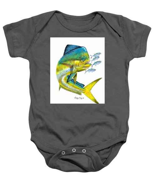 Mahi Digital Baby Onesie by Carey Chen