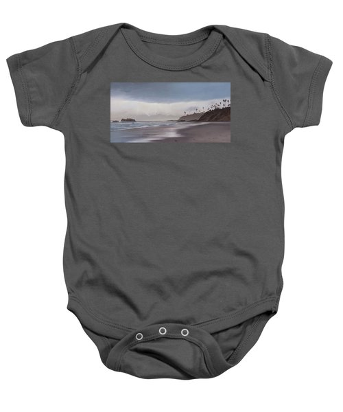 Main Beach Reflections Baby Onesie