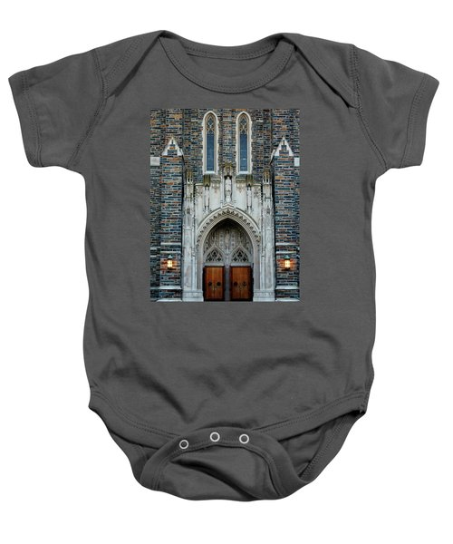 Main Entrance To Chapel Baby Onesie
