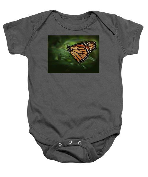 Majestic Monarch Baby Onesie