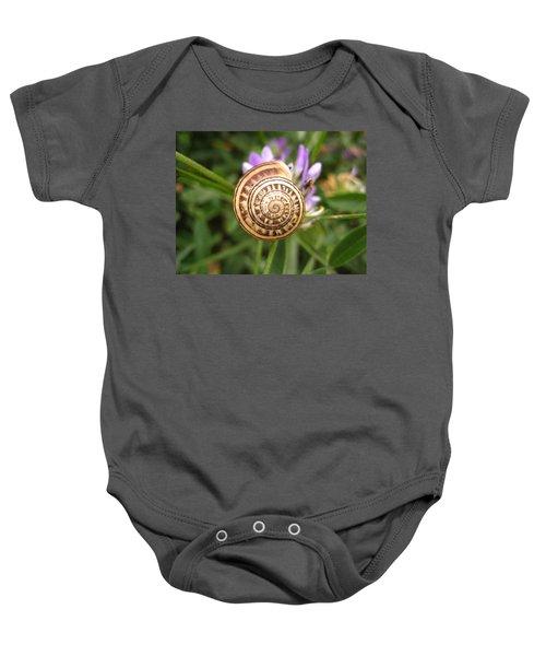 Malta Snail Baby Onesie