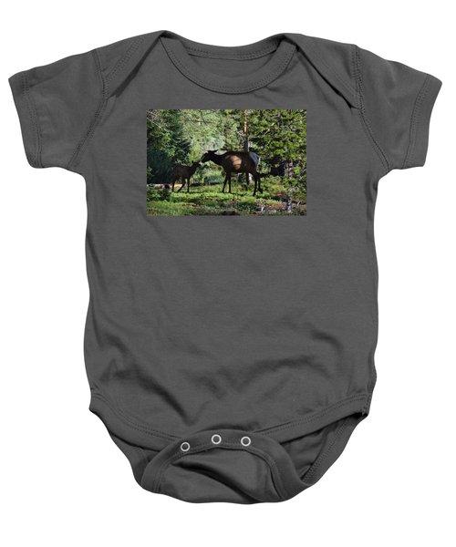 Elk Calf - Mother Rmnp Co Baby Onesie