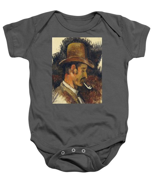 Man With Pipe Baby Onesie
