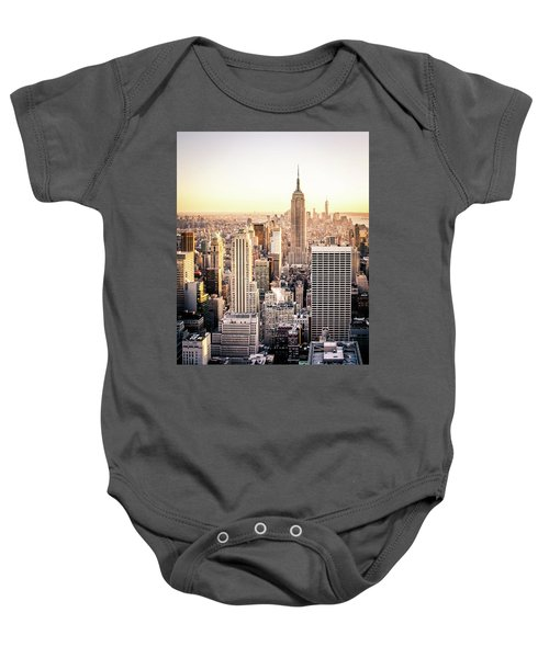 Manhattan Baby Onesie by Michael Weber