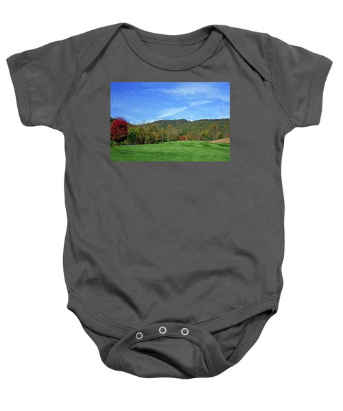 Maple Red Baby Onesie