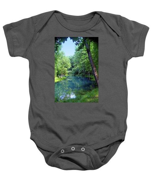 Maramec Springs 2 Baby Onesie
