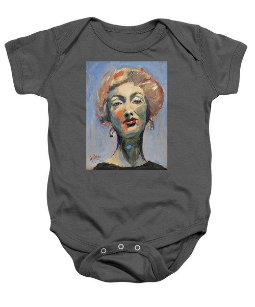 Marella Agnelli Baby Onesie
