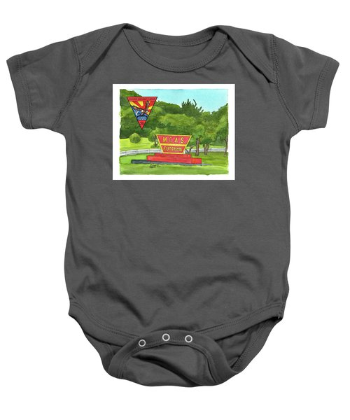 Marine Aircraft Group At Mcas Futenma Baby Onesie