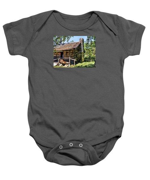 Mark Twains Family Cabin Baby Onesie