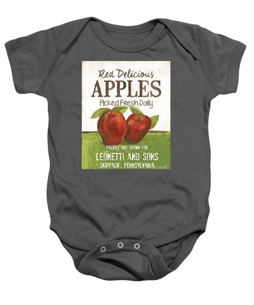 Market Fruit 2 Baby Onesie