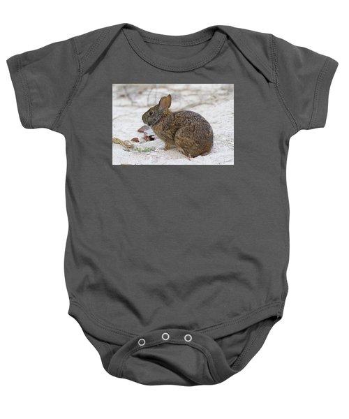 Marsh Rabbit On Dune Baby Onesie