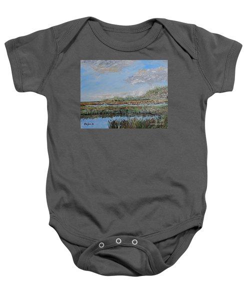 Marsh View Baby Onesie
