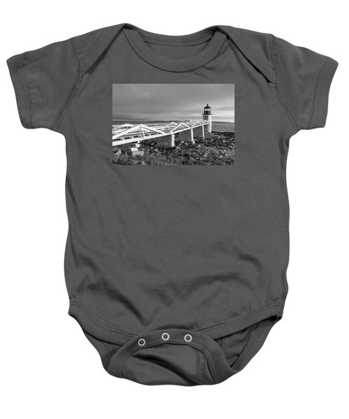 Marshall Point Lighthouse Baby Onesie