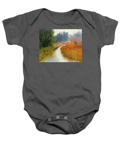 Marshes Of New England Baby Onesie