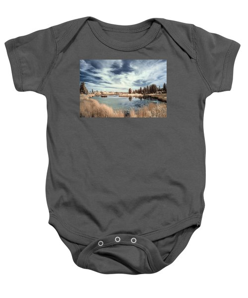 Marshlands In Washington Baby Onesie
