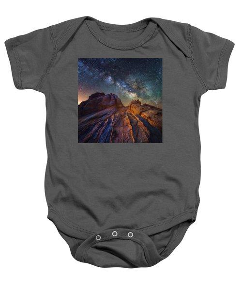 Martian Landscape Baby Onesie