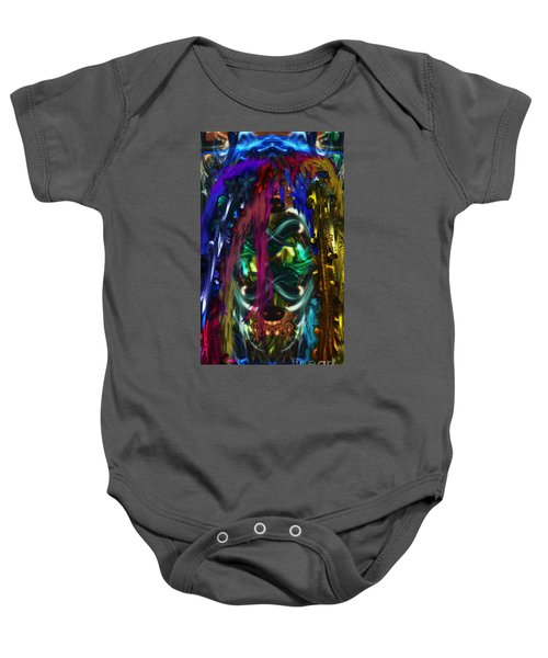 Mask Of The Spirit Guide Baby Onesie