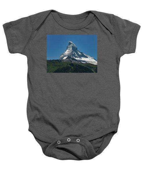 Matterhorn, Switzerland Baby Onesie