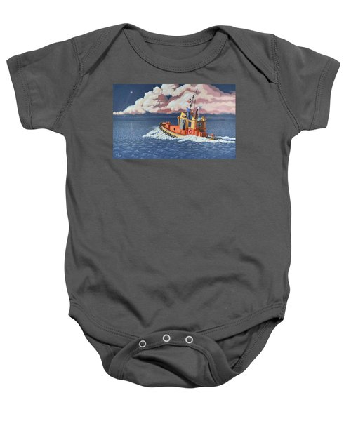 Mayday- I Require A Tug Baby Onesie