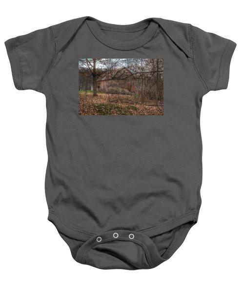 0026 - Mayville's Hidden Barn II Baby Onesie