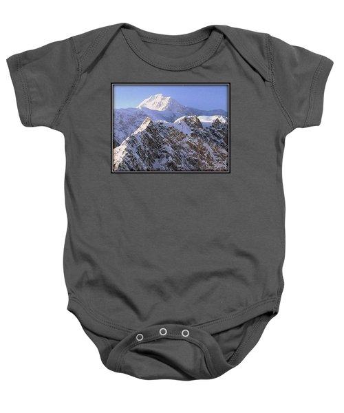 Mc Kinley Peak Baby Onesie