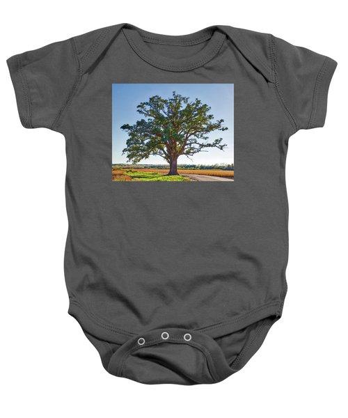 Mcbaine Bur Oak Baby Onesie